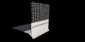Капельный профиль ЭКО с стекловолокнистой сеткой