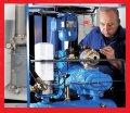 Ремонт и сервисное обслуживание винтового компрессора Atlas Copco