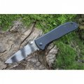 Нож складной с зазубринами камуфляж Sanrenmu 7007LVK-GH