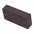 Фасадный камень коричневый