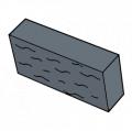 Фасадный камень черный