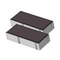 Тротуарная плитка Кирпичик 45 коричневый