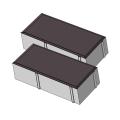 Тротуарная плитка Кирпичик 60 коричневый