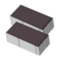 Тротуарная плитка Кирпичик 80 коричневый