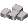 Тротуарная плитка Римский камень 60 серый