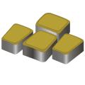 Тротуарная плитка Римский камень 60 желтый