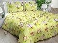 Ткань детская Бязь Gold для постельного белья Uxt-196-4 Yellow