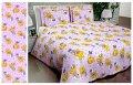 Ткань детская Бязь Gold для постельного белья Uxt-358-Violet