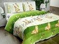 Ткань Поликоттон для постельного белья N-6678-1-Green
