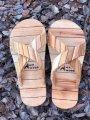 Деревянные тапочки для сауны и бани Mr.Wood 36