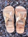 Wooden slippers for sauna and baths Mr. Wood 43