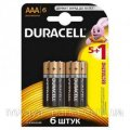 Duracell Mn2400 Lr03 batteries 1 x 5 +1 Pcs