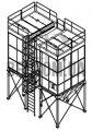 Filtr workowy z regeneracją impuls BFF-I-M4
