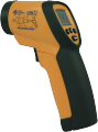 Инфракрасный термометр с лазерным прицелом и  звуковым сигнализатором LTX12