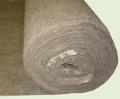 Полотно нетканое иглопробивное. Материал нетканый. Полотна нетканые. Нетканый материал иглопробивной, непропитаний, натуральный, серого цвета.