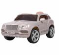 Детский электромобиль Bentley 2158 лак серебро