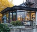 Зимний сад деревянный БОСКО светопрозрачная, дерево-алюминий, 120х60