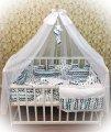 """Набор постельного белья для новорожденных в кроватку Bonna """"Пазлы"""""""