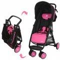 Детская прогулочная коляска-книжка EL CAMINO MOTION M 3295-8 розовая