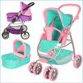 Детская коляска-трансформер для кукол 9662