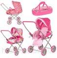 Детская коляска для кукол Melogo 9391