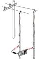 Комплект для измерения сопротивления цепи фаза-нуль на воздушных линиях E115M