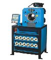 Пресс специальный HM 490, HM 500, HM 502 для обработки тяжелых рукавов (РВД)