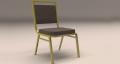 Банкетный стул с мягкой обивкой на усиленном каркасе