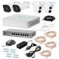 Комплект системы видеонаблюдения IP 4MIX-2MP