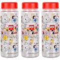 Бутылка для воды пластик с рисунком 0,5литра 6,5*19,5см