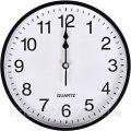 """Настенные часы """"Круг"""" цветной корпус, белый циферблат 25,5*4см 6025"""