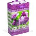 """Пакет цветной малый """"Цветы"""" 11х18х5 см"""