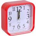 Настольные часы - будильник с закругленными углами 9,5*9,5*4см