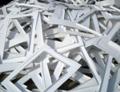 Отходы листового полистирола, акрила