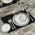 Посуда Capital For People пластиковая многоразовая для пикника. Полная сервировка стола.116 шт 6 пер