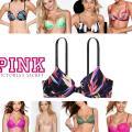 Бюстгальтеры Pink Victoria's Secret Пуш-Ап Oптом, Дропшиппинг - оригинал Виктория Сикрет