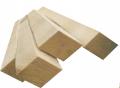 Монтажная рейка потолочная деревянная сухая, сосна | Киев, цена