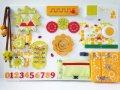 Настольная развивающая игра бизиборд 40 x 60 см Желтый (245781245/1)