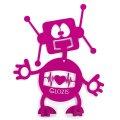 Вешалка настенная Детская Glozis Robot H-007 26 х 22 см