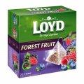 Чай в пакетиках пирамидках Loyd Forest Fruit, лесные ягоды, 2г*20шт