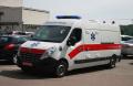 Ambulance cars on the basis of RENAULT MASTER MAF4CE