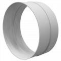 Пластикове кільце для подовження труби вентиляційних приладів Reventa на 60-80 мм.