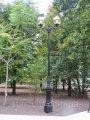 """Lámpaoszlopok Park """"velencei"""" öntött antik lámpa LED-es"""