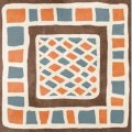 Декор GOLDEN TILE AFRICA Микс H1Б020 (371248)