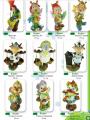 Садово-парковые фигуры Сказочные мультипликационные персонажи, высотой от 50 до 92 см