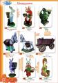 Цветочницы для сада, парка Сказочные животные (Зайцы, Ослики, Белки), высота от 65 до 100 см