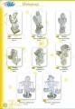 Скульптуры декоративные интерьерные, Ангелы, Дети, высота от 40 до 65 см