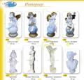 Скульптуры декоративные интерьерные, Ангелы, Греческие Богини, высота от 47 до 72 см
