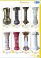 Колони декоративні, єгипетські, грецькі, римські з виноградником, висота від 60 до 100 см
