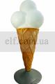 Макет мороженого - реклама любимого лакомства детей и взрослых